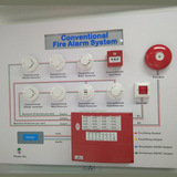 Conventional Fire Alarm Control Panel with 16 Zones